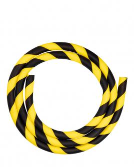 Manguera de Silicona Amarillo y Negro
